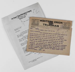 Telegram regarding Toledo Meeting