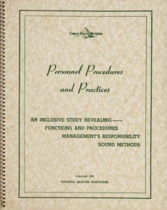 Personnel & Procedures Book published