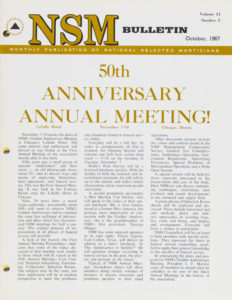 50th Anniversary Meeting